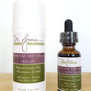 CBD Cream 750mg + CBD Isolate Oil (1000mg) - Oasis Healing Arts